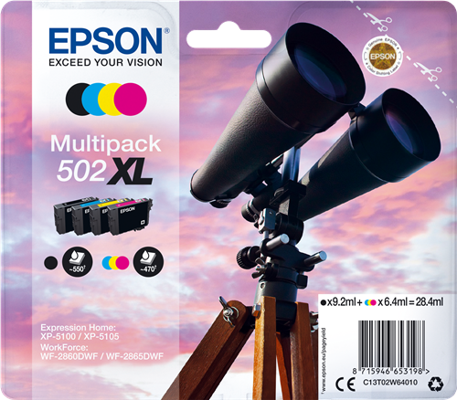 Epson C13T02W64010 502XL