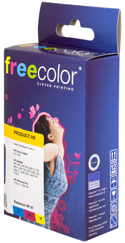 Freecolor HP641A-INK-FRC