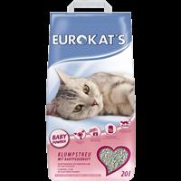 Gimborn Eurokat's Katzenstreu mit Babypuder - 20 l (613246)