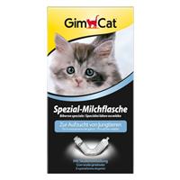 Gimcat Spezial-Milchflasche - 1 Milchflasche mit 4 verschiedenen Saugern (406091)