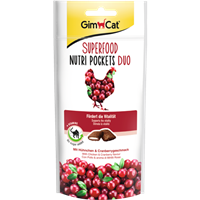 Gimpet Superfood Nutri Pockets - 60 g - Huhn & Cranberry (414869)