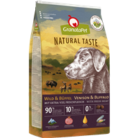 GranataPet Natural Taste - Wild & Büffel