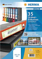 5-Blatt-Packung: Ordneretiketten HERMA 12900