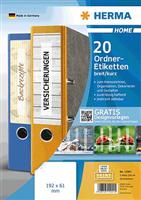 5-Blatt-Packung: Ordneretiketten HERMA 12901