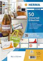 5-Blatt-Packung: Universaletiketten HERMA 12903