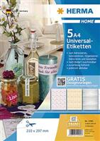 5-Blatt-Packung: Universaletiketten HERMA 12905