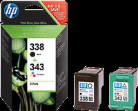Multipack HP 338 + 343