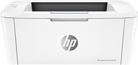 Impresora Laser Negro Blanco HP LaserJet Pro M15a