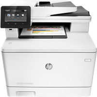 Dispositivo multifunzione HP LaserJet Pro M477fdn