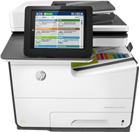 Dispositivo multifunzione HP PageWide Enterprise Color MFP 586dn