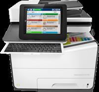 Dispositivo multifunzione HP PageWide Enterprise Color MFP 586f
