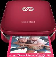 Imprimante photos HP Sprocket, rot