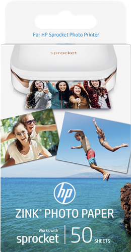 1DE37A HP Sprocket Fotopapier