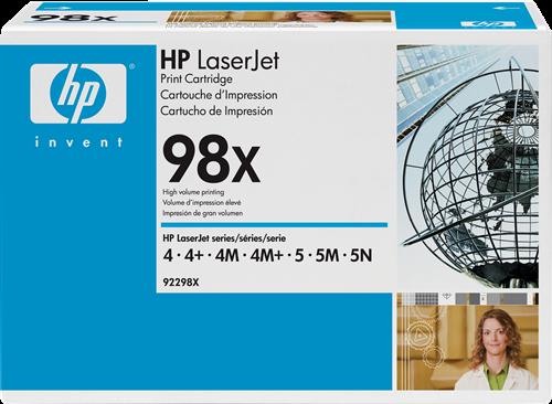 HP 92298X 98X