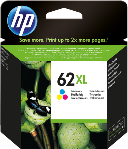 HP C2P07AE 62 XL
