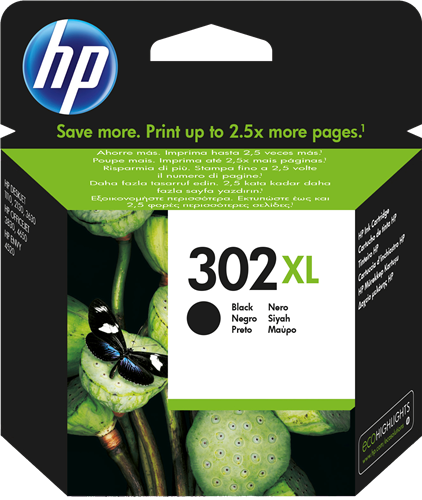 HP ink cartridge F6U68AE (302 XL)