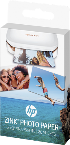 HP W4Z13A ZINK Photo Paper Snapshots