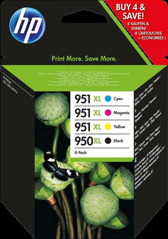 Multipack HP 950 XL + 951 XL