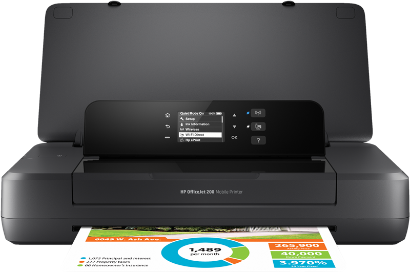 Tintenstrahldrucker HP Officejet 200 Mobile