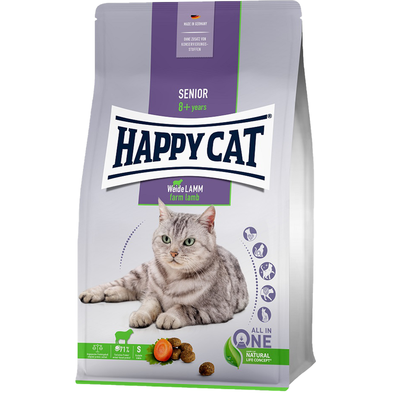 Happy Cat Senior Weide Lamm - 1,3 kg (70614)