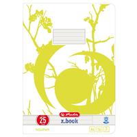 herlitz Schulhefte A4 liniert 16 Blatt Recycling-Papier