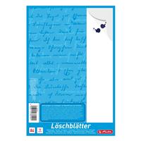 herlitz Löschblattblöcke, 10 Blatt