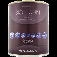 Herrmanns Bioqualität in der Dose - 800 g - Bio Huhn, Reis & Karotte (34633)
