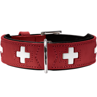 Hunter Halsband Swiss - rot - Größe 60 (41868)