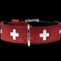 Hunter Halsband Swiss - rot - Größe 70 (42813)