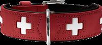 Hunter Halsband Swiss - rot - Größe 75 (42814)