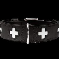 Hunter Halsband Swiss - schwarz - Größe 55 (42820)