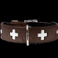 Hunter Halsband Swiss - braun - Größe 50 (42829)