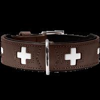 Hunter Halsband Swiss - braun - Größe 65 (42832)