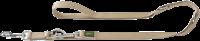 Hunter Verstellbare Führleine - 15 mm x 200 cm, beige (46665)