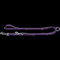 Hunter Verstellbare Führleine - violett - 20 mm x 200 cm (46677)