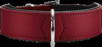 Hunter Halsband Basic - rot/schwarz