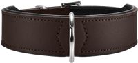 Hunter Halsband Basic - braun/schwarz