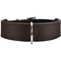 Hunter Halsband Basic - braun/schwarz - Größe 65 (46957)