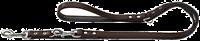 Hunter Verstellbare Führleine Basic - braun - 13 mm x 200 cm (46973)