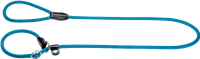 Hunter Verstellbare Retriever-Leine Freestyle - petrol - 10 mm x 120 cm (47870)