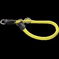 Hunter Dressurhalsung Freestyle - neongelb - Größe 45 (61700)