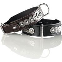 Hunter Halsband Basic Rom - schwarz - Größe 65 (61776)