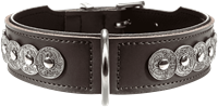 Hunter Halsband Basic Rom - dunkelbraun