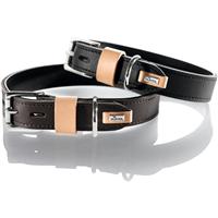 Hunter Halsband Bombay - braun/schwarz - Größe 55 (61877)