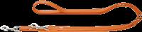 Hunter Verstellbare Führleine Cannes - 20 mm x 200 cm, orange (61891)