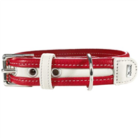 Hunter Halsband Madeira - rot/weiß