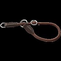 Hunter Dressurhalsung Freestyle - braun - Größe 35 (62628)
