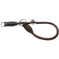 Hunter Dressurhalsung Freestyle - braun - Größe 40 (62629)