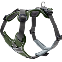 Hunter Geschirr Divo - grün/grau - Größe L/XL (67594)