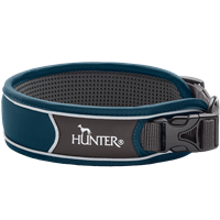 Hunter Halsung Divo - dunkelblau/grau - Größe S (67615)
